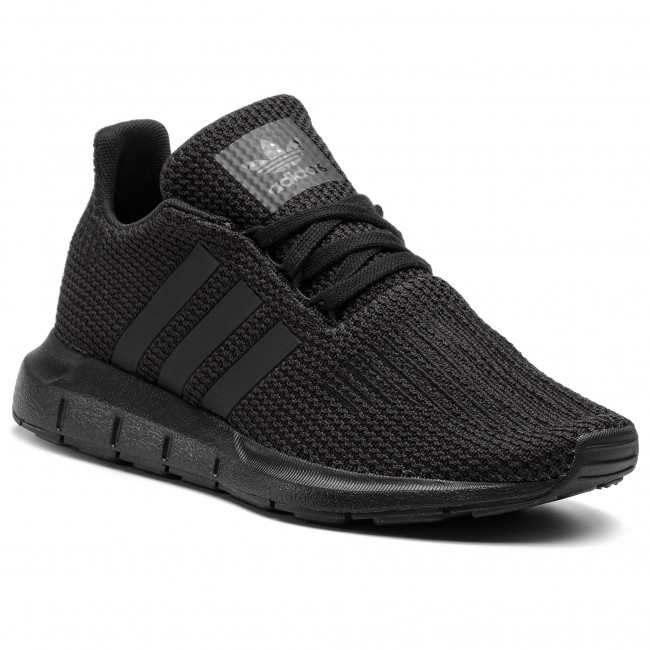 Topánky adidas - Swift Run J F34314 Cblack/Cblack/Cblack