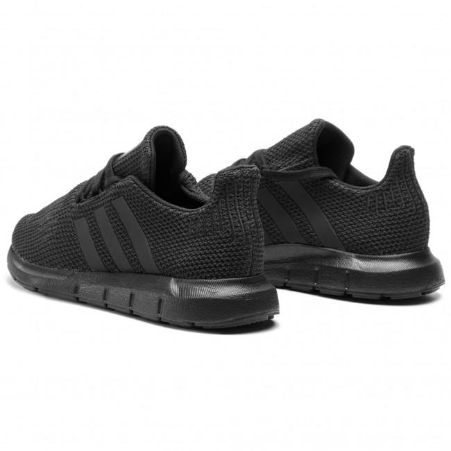 81e7d6f014298 Topánky adidas - Swift Run J F34314 Cblack/Cblack/Cblack - Sneakersy ...