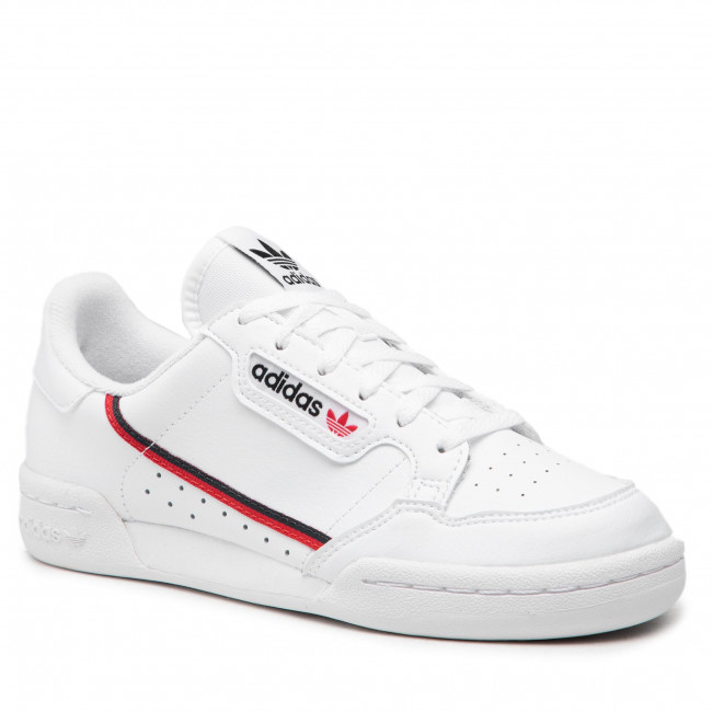 Topánky adidas - Continental 80 J F99787 Ftwht/Scarle/Conavy