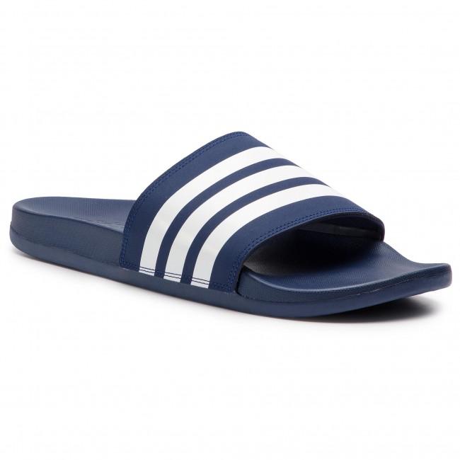 Šľapky adidas - adilette Comfort B42114  Dk Blue/Ftwwht/Dk Blue