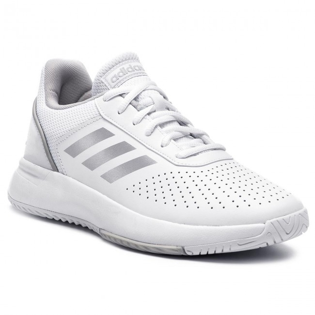 Topánky adidas - Courtsmash F36262 Ftwwht/Msilve/Gretwo