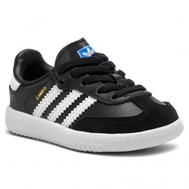 Topánky adidas - Samba Og El I B42129 Cblack/Ftwwht/Ftwwht