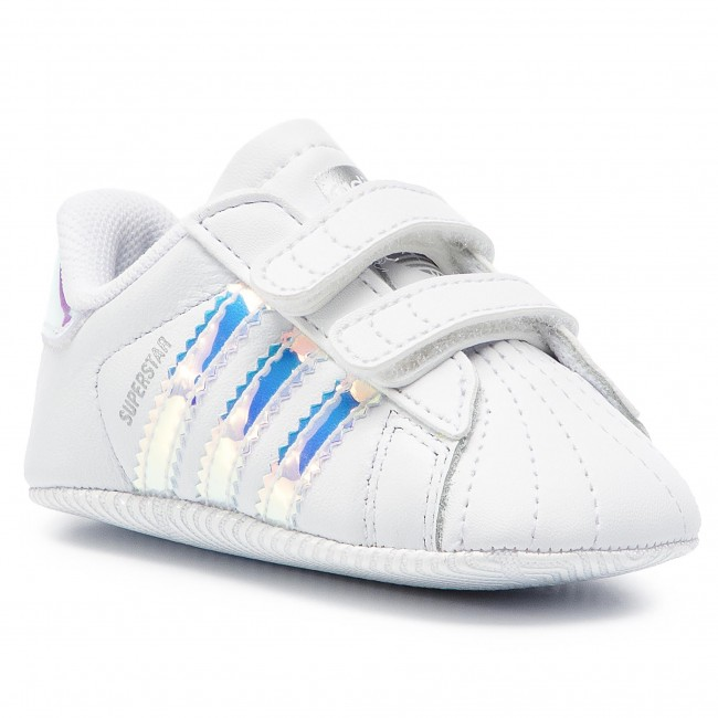 Topánky adidas - Superstar Crib BD8000 Ftwwht/Ftwwht/Cblack