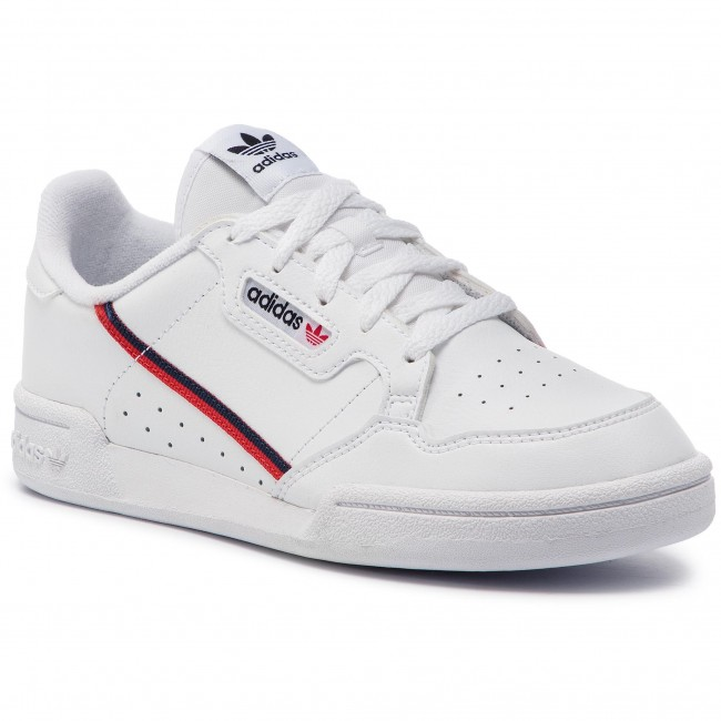 Topánky adidas - Continental 80 C G28215 Ftwwht/Scarle/Conavy