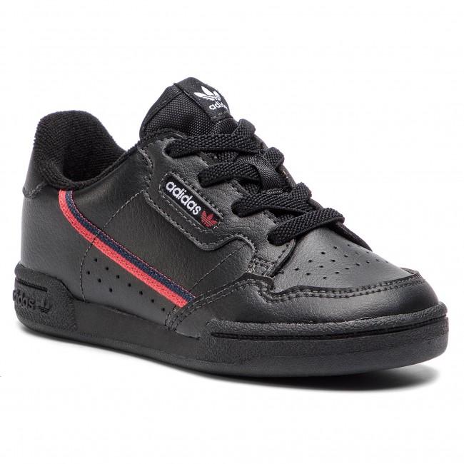 Topánky adidas - Continental 80 I G28217 Cblack/Scarle/Conavy