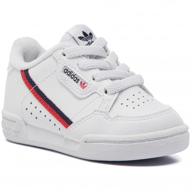 Topánky adidas - Continental 80 I G28218 Ftwwht/Scarle/Conavy