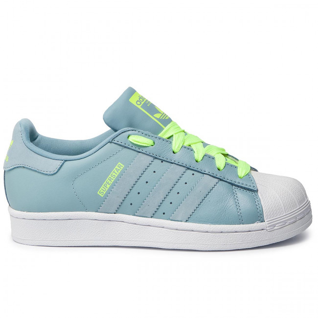 a829424aa38cb Topánky adidas - Superstar J F34162 Ashgre/Ashgre/Hireye - Sneakersy ...
