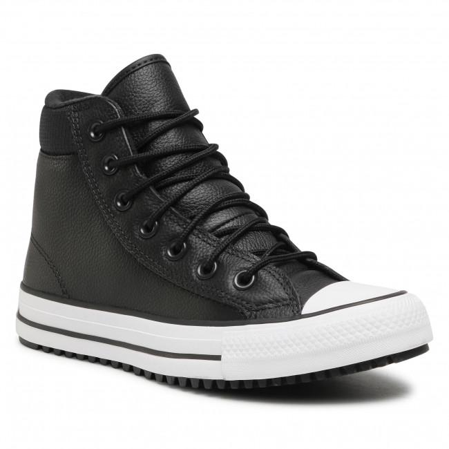 Tramky CONVERSE - Ctas Pc Boot Hi 162415C Black/Black/White