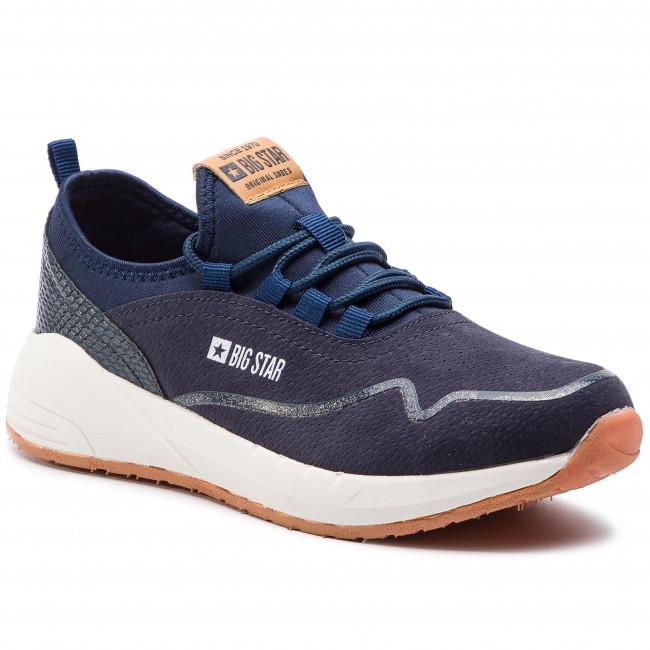 Sneakersy BIG STAR - DD274284 Navy