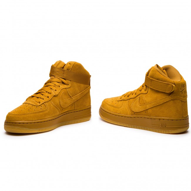 9ccc9776e34ff Topánky NIKE - Air Force 1 High Lv8 (GS) 807617 701 Wheat/Wheat Gum ...