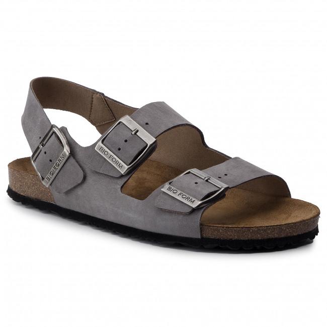 Sandále NIK - 06-0355-02-7-07-03 Sivá