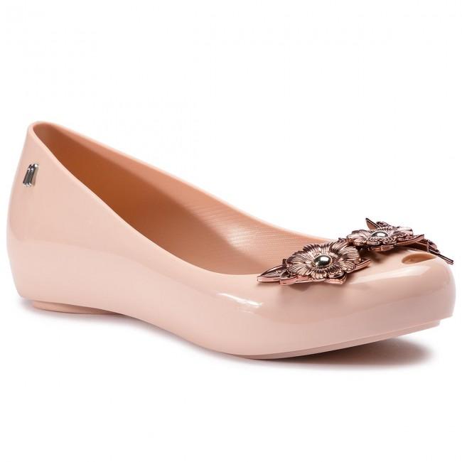 Baleríny MELISSA - Ultragirl Flower Chrom 32655 Pink/Pink 50910