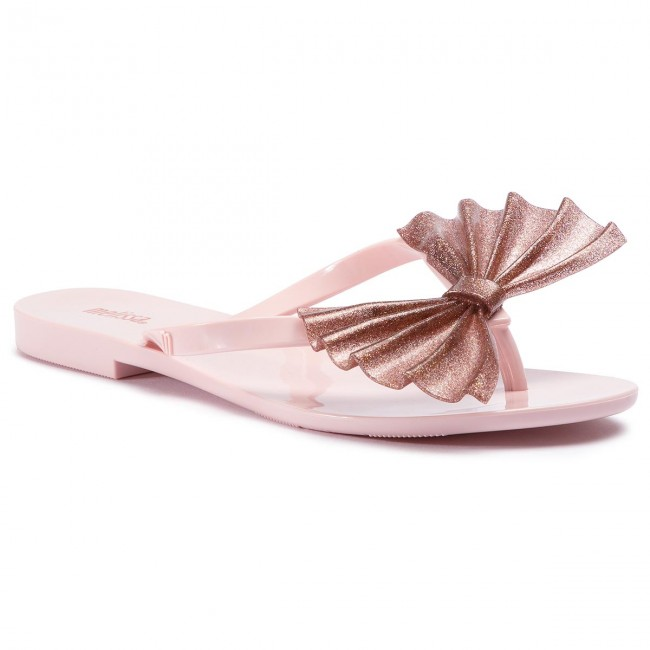 Žabky MELISSA - Harmonic Bow VI Ad 32445 Pink/Glitter Multicolor 52848