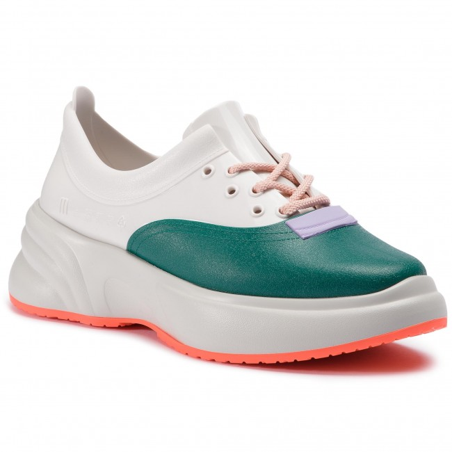 Sneakersy MELISSA - Ugly Sneaker Ad 32429 Beige/White/Green 20462