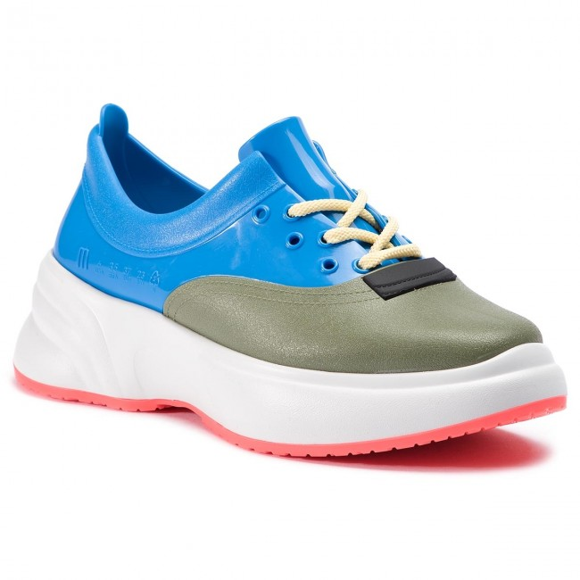 Sneakersy MELISSA - Ugly Sneaker Ad 32429  White/Blue/Green 22846