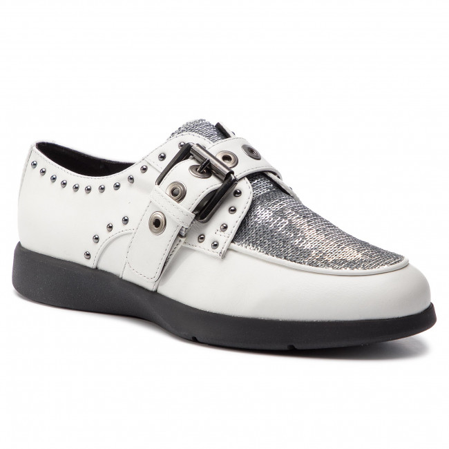 Poltopánky GEOX - D Arjola G D92DHG 043AY C0007 White/Silver