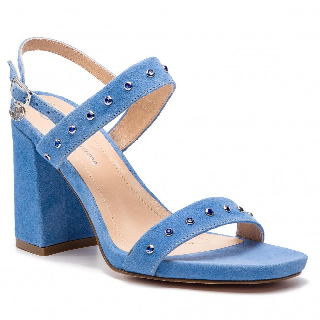 Sandále SOLO FEMME - 42305-01-I53/000-07-00 Błękitny