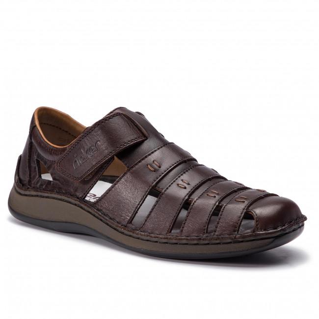 Sandále RIEKER - 05279-25 Braun
