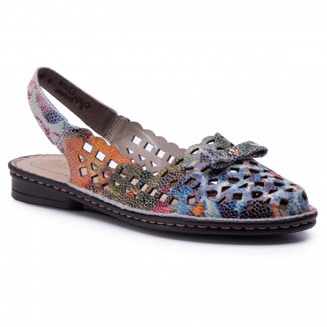 6698a02f63854 Sandále RIEKER - 48475-90 Multi - Sandále na každodenné nosenie - Sandále -  Šľapky a sandále - Dámske - eobuv.sk