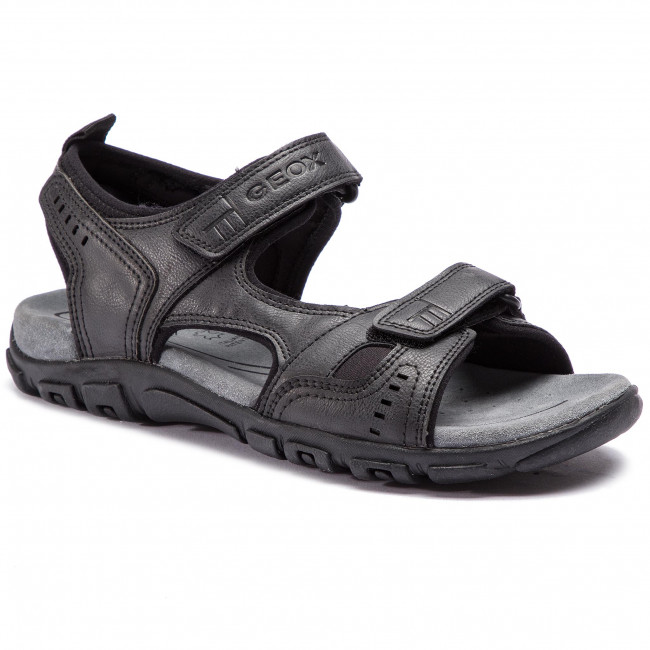 Sandále GEOX - U S.Strada A U4224A 000ME C9999 Black