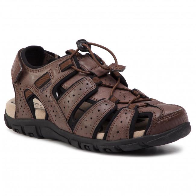 Sandále GEOX - U S.Strada B U6224B 0MEBC C0013 Brown