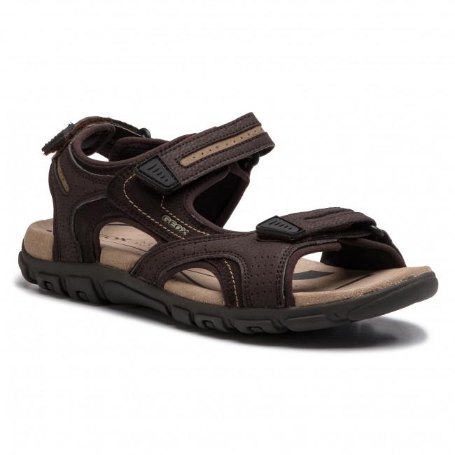 Sandále GEOX - U S.Strada D U8224D 050AU C0705 Brown/Sand