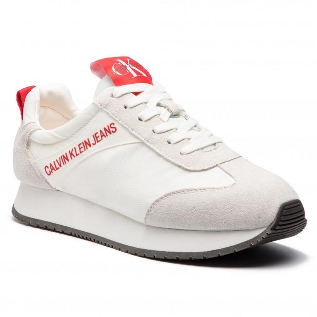Sneakersy CALVIN KLEIN JEANS - Jerrold S0581 Bright White