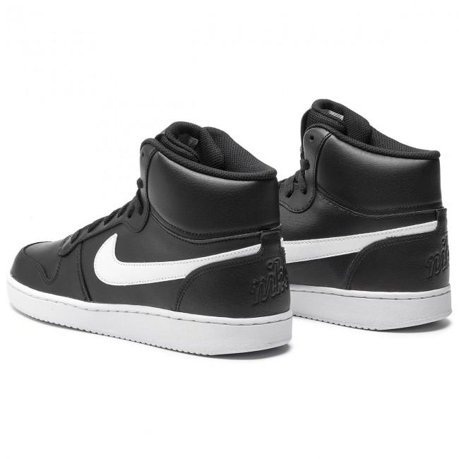 c6ef95bf26b8f Topánky NIKE - Ebernon Mid AQ1773 002 Black/White - Sneakersy ...