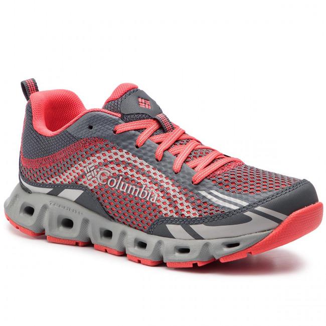 Trekingová obuv COLUMBIA - Drainmaker IV BL4617 Graphite/Red Coral 053