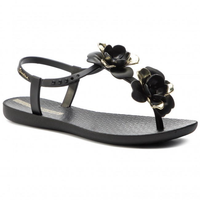 58e1167fa Sandále IPANEMA - Floral Sandal Fem 82662 Black/Gold 20903 - Sandále na  každodenné nosenie - Sandále - Šľapky a sandále - Dámske - eobuv.sk