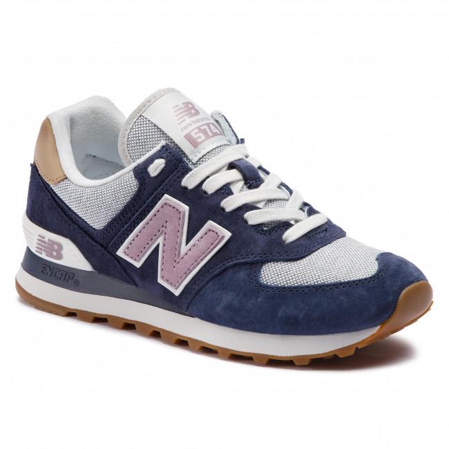 8461a46e8d45e Sneakersy NEW BALANCE - WL574NVC Tmavo modrá - Sneakersy ...