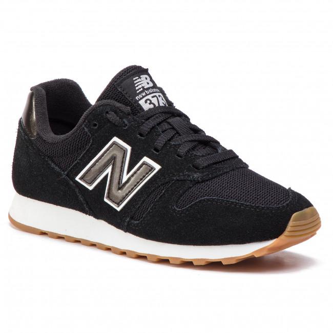 e81b733b4e5e8 Sneakersy NEW BALANCE - WL373BTW Čierna - Sneakersy - Poltopánky ...