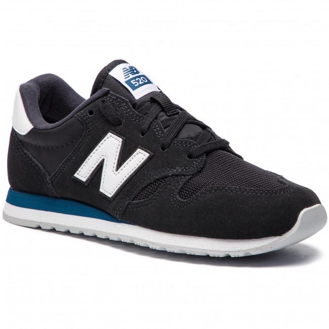 Sneakersy NEW BALANCE - U520GF  Čierna