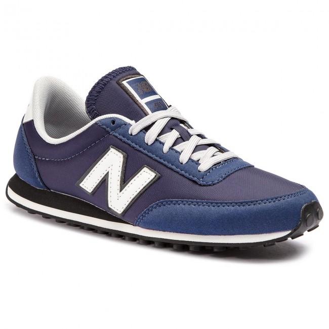 ba39fbd98be40 Sneakersy NEW BALANCE - U410AN Tmavo modrá - Sneakersy - Poltopánky ...