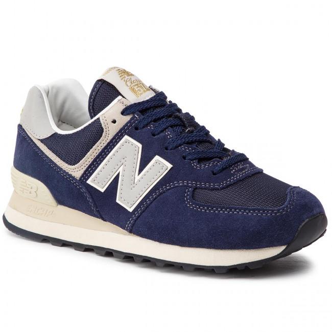 9a1e03305e869 Sneakersy NEW BALANCE - ML574VLA Tmavo modrá - Sneakersy ...