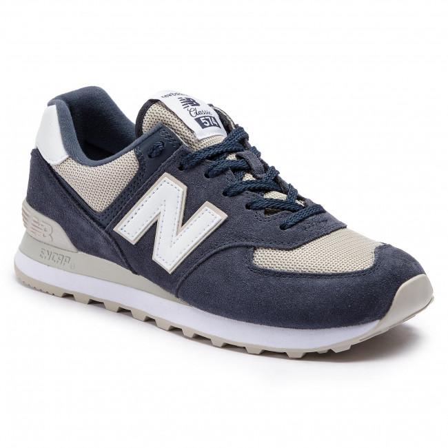 981e09004d228 Sneakersy NEW BALANCE - ML574ESQ Tmavo modrá - Sneakersy ...