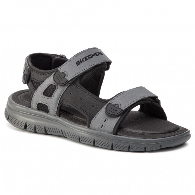 Sandále SKECHERS - Upwell 51874/BKCC Black/Charcoal