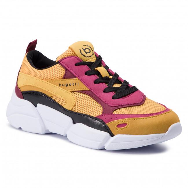 704f481f4bee8 Sneakersy BUGATTI - 431-66801-5959-5081 Yellow/Multicolor - Sneakersy -  Poltopánky - Dámske - eobuv.sk