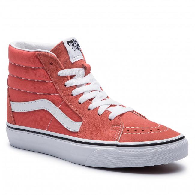 Sneakersy VANS - Sk8-Hi VN0A38GEVKR1 Emberglow/True White