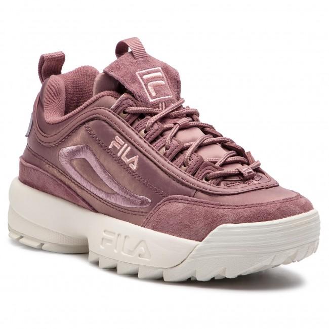 e4b779a03 Sneakersy FILA - Disruptor Satin Low Wmn 1010437.70W Ash Rose ...
