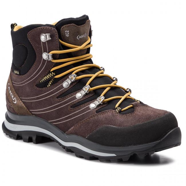 Trekingová obuv AKU - Alterra Gtx GORE-TEX 402 Brown/Ochre 010