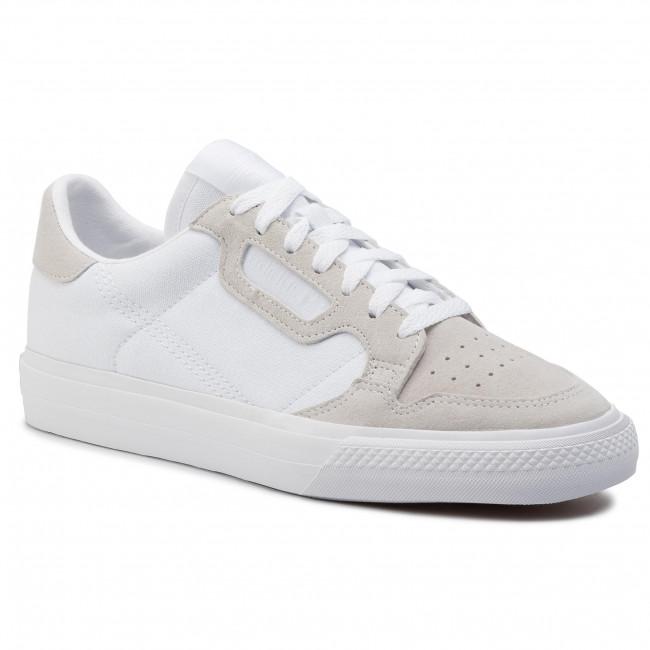 Topánky adidas - Continental Vulc EF3523 Ftwwht/Ftwwht/Ftwwht