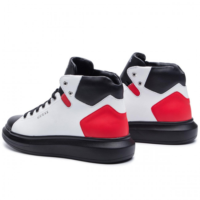 Sneakersy GUESS Opera High FM7OPH LEA12 WHIRE
