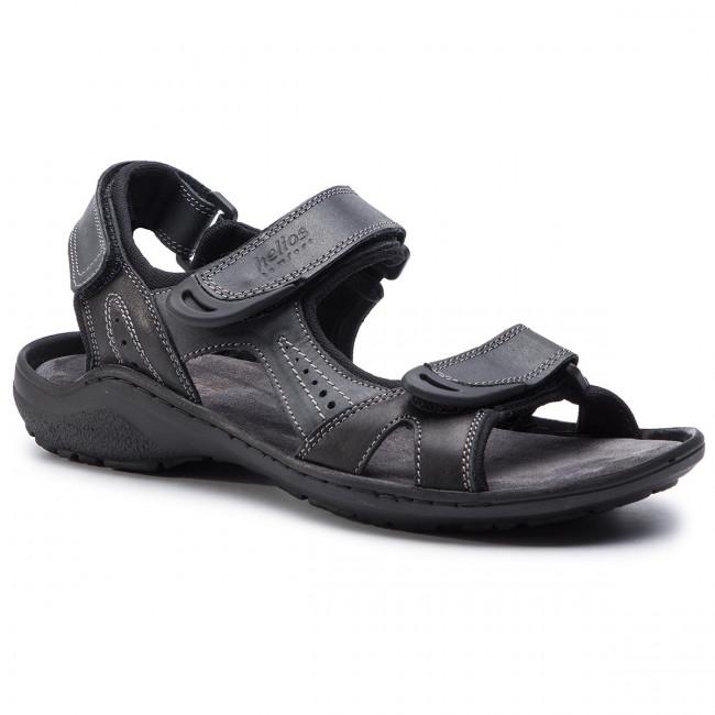 Sandále HELIOS - 853 Čierna