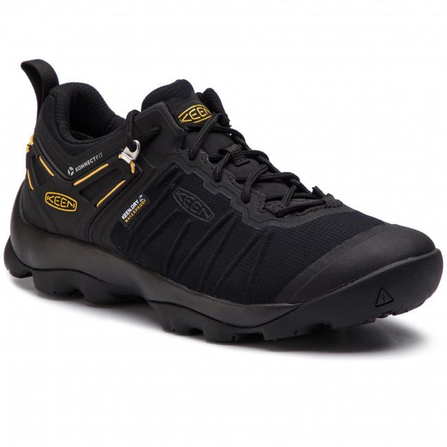 Trekingová obuv KEEN - Venture Wp 1021173 Black/Keen Yellow