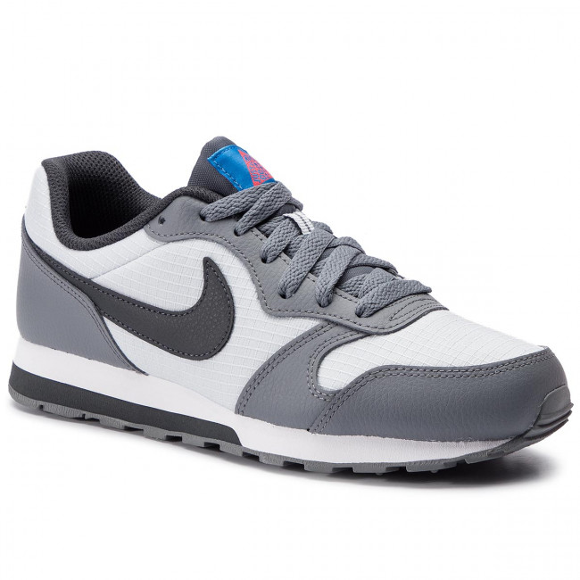 d7c337063c016 Topánky NIKE - Md Runner 2 (GS) 807316 015 Pure Platinum/Anthracite ...