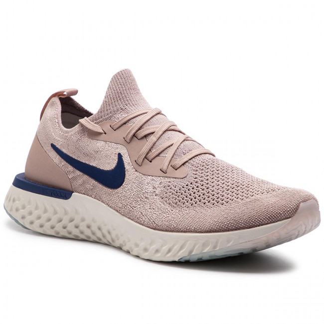 c82ed39cc Topánky NIKE - Epic React Flyknit AQ0067 201 Diffused Taupe/Blue ...