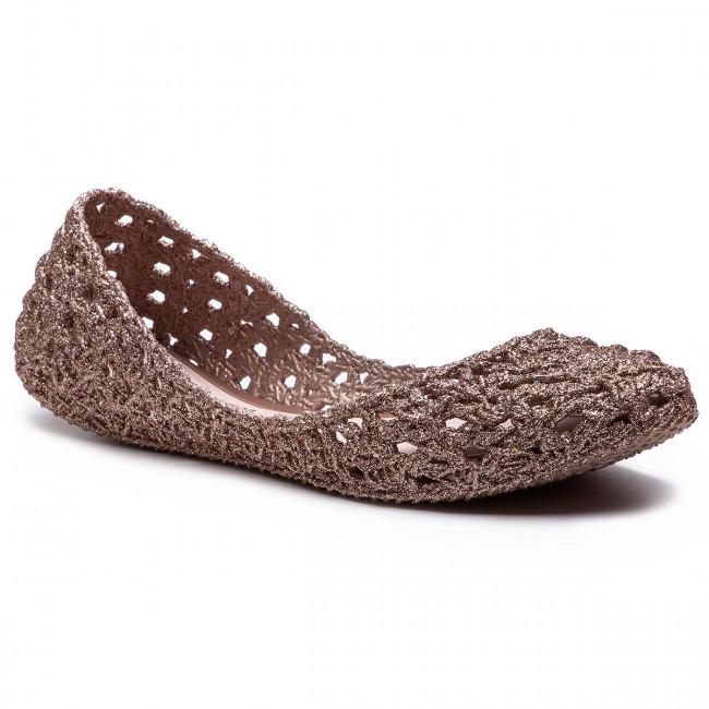 Baleríny MELISSA - Campana Crochet Ad 32246 Pink Glitter 51801
