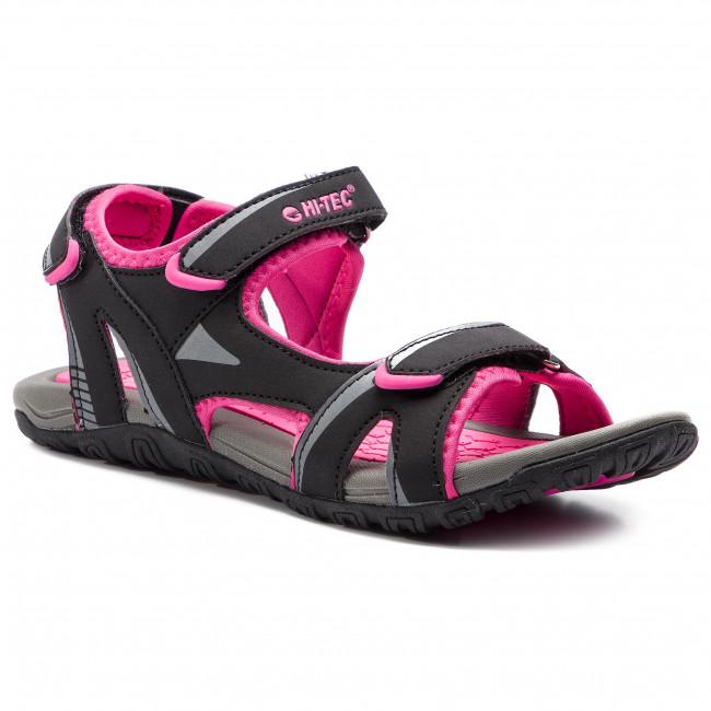 Sandále HI-TEC - Caline Wo's AVS-SS19-HT-01-Q2 Black/Dark Grey/Fuchsia