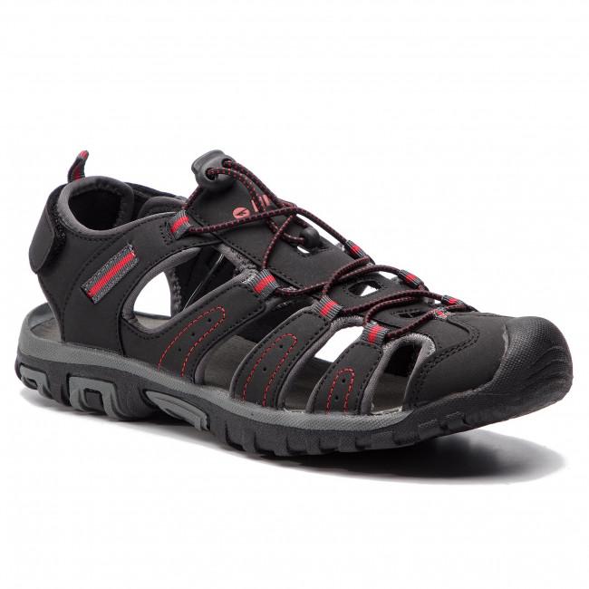 Sandále HI-TEC - Tiore AVS-SS19-HT-01-Q2 Black/Dark Grey/Red